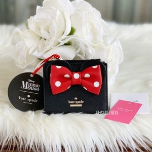 Kate Spade Minnie Mouse Adalyn Wallet